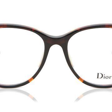 Dior MONTAIGNE 54F Asian Fit P65 Womenas Glasses Tortoiseshell Size 52 - Free Lenses - HSA/FSA Insurance - Blue Light Block Available