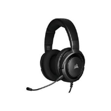 CORSAIR Gaming HS35 - Headset - full size - wired - 3.5 mm jack - Carbon