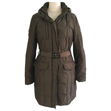 Woolrich \N Metallic Cotton Coats
