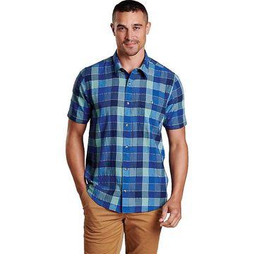 Toad & Co Men's Cuba Libre SS Shirt - XL - True Navy