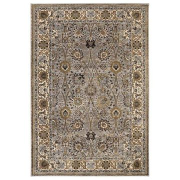 Karastan Spice Market 90671-90100 8'x11' Silver Rug