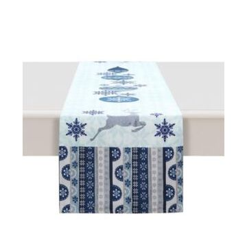 """Laural Home Simply Winter Table Runner - 13"""" x 72"""""""