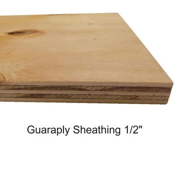 ReliaBilt 15/32-in x 4-ft x 8-ft Southern Yellow Pine Plywood Sheathing | 12247