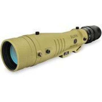 Bushnell Elite Tactical LMSS 8-40x60 Spotting Scope - Straight Viewing, 1.5 - 5mm Exit Pupil, 30mm Eye Relief, Fully Multi-Coated, Waterproof/Fogproof