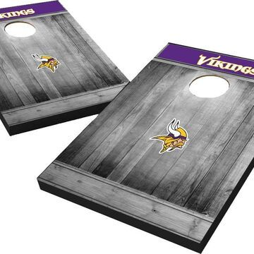 Minnesota Vikings Grey Wood Tailgate Toss