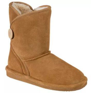 Natural Reflections Abree Shearling Boots for Ladies - Chestnut - 9M