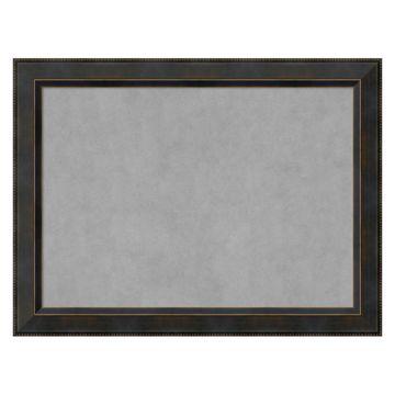 Amanti Art Signore Bronze Framed Magnetic Board