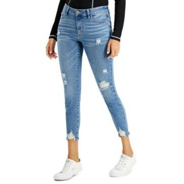 Celebrity Pink Juniors' Mid Rise Skinny Ankle Jeans