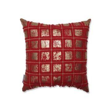 "Pillow Perfect Grid 18"" Throw Pillow"