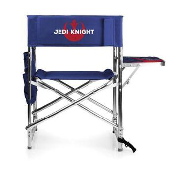 Picnic Time Jedi Knight Sports Chair in Navy