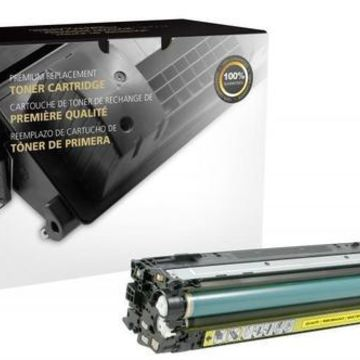 Clover Remanufactured Yellow Toner Cartridge for HP CE742A HP 307A 200572P