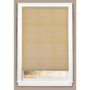 allen + roth Linen Light Filtering Cordless Cellular Shade (Actual: 58-in x 64-in)