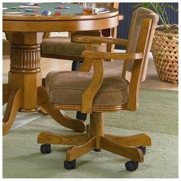 Oak Arm Chair by Coaster Furniture