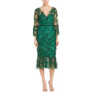 Marchesa Notte Sheath Dress