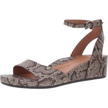Gentle Souls by Kenneth Cole Womens Gisele Two-Piece Sandal Wedge Sandals