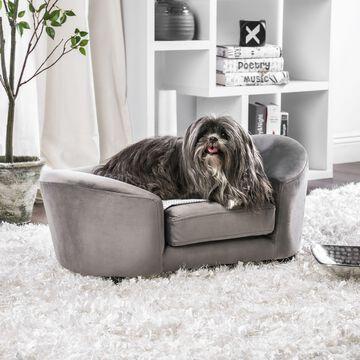 Furniture of America Fifi Flannelette Pet Bed
