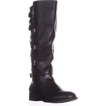 Thalia Sodi Womens Veronika Wide Calf Riding Boots Closed Toe
