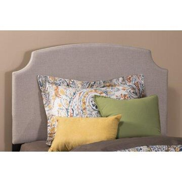 Hillsdale Furniture Lawler Arched Upholstered Twin Headboard, Cream