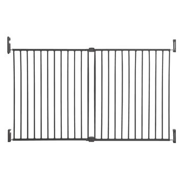 Dreambaby& Broadway Extra Wide Gro-Gate& in Charcoal