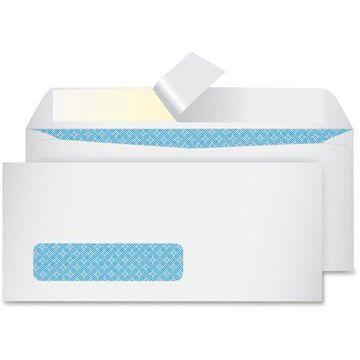 Quality Park Redi Strip Security Tinted Window Envelope, #10, 4 1/8 x 9 1/2, White, 500/Box