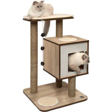 Vesper Base 32-in Modern Cat Tree & Condo