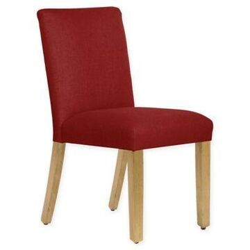 Skyline Furniture Becker Dining Chair in Linen Antique Red