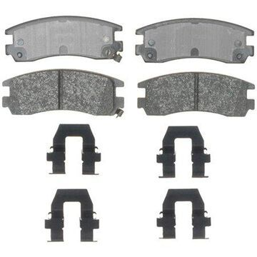 ACDelco Gold Performance Semi-Metallic Brake Pad Set, w/ Hardware