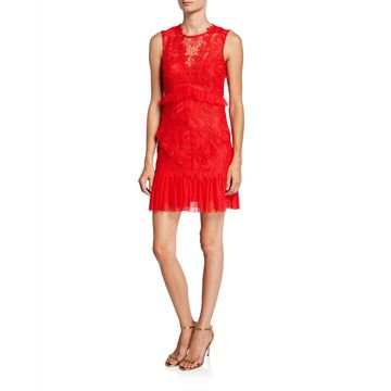 Francesca Sleeveless Lace Cocktail Dress