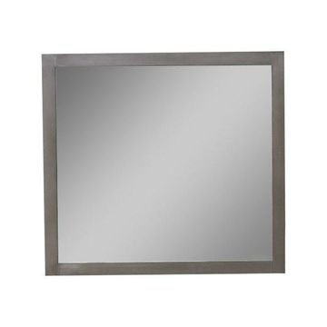 Legion Furniture Sally Mirror, Silver Gray, 36