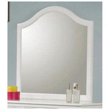 Coaster Dominique Mirror White Finish