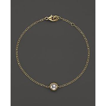 Ippolita 18K Gold Mini-Lollipop Bracelet in Clear Quartz