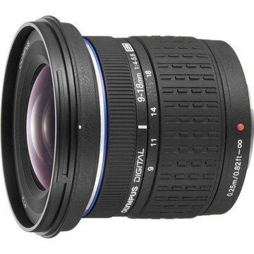 Olympus Super Wide Angle 9-18mm f/4-5.6 ED Zuiko Zoom Lens for Olympus Digital SLR