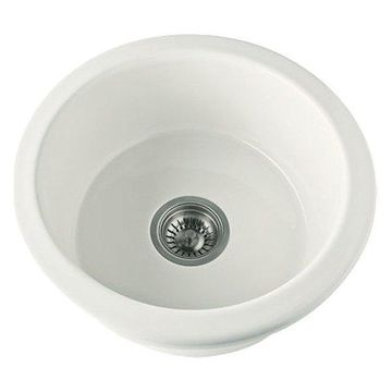 Rohl, Kitchen Sink, Biscuit, 18