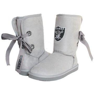 Women's Las Vegas Raiders Cuce Champion Boots
