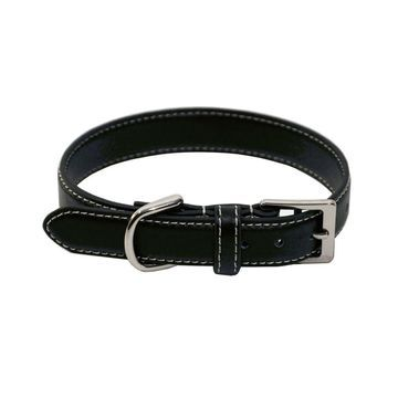 Royce Leather Luxury Small Dog Collar - Black