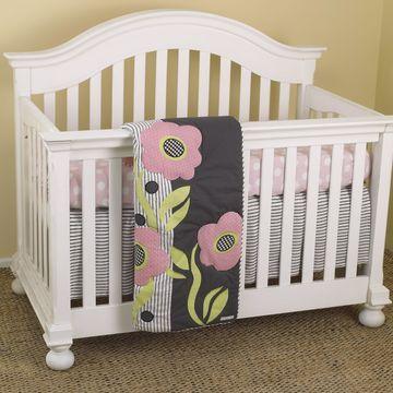 Cotton Tale Poppy 7-piece Crib Bedding Set