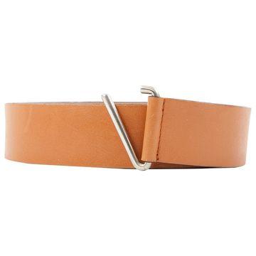 Costume National Camel Leather Belts