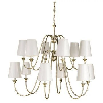 Currey and Company 9289 Orion Chandelier - Silver