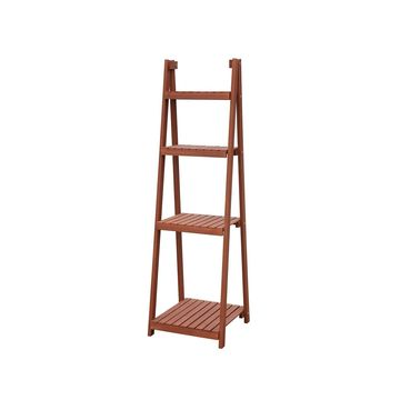 Convenience Concepts 4-Tier Plant Stand Red