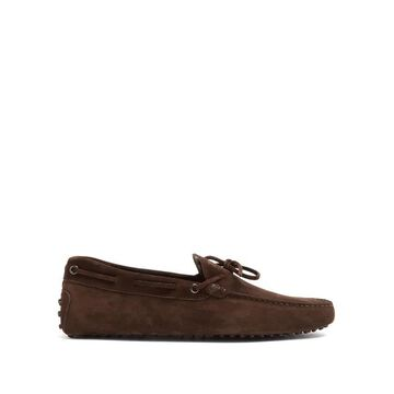 Tod's - Gommino Suede Driving Loafers - Mens - Brown