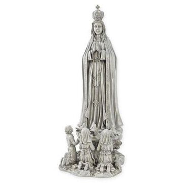 Design TOSCANO Our Lady of Fatima Large Statue in Stone