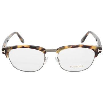 Tom Ford FT5458 056 51 Square   Havana   Eyeglass Frames