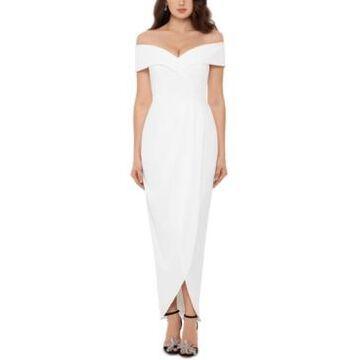 Xscape Off-The-Shoulder Gown