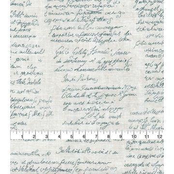 Waverly Upholstery Fabric-Scripted Indigo