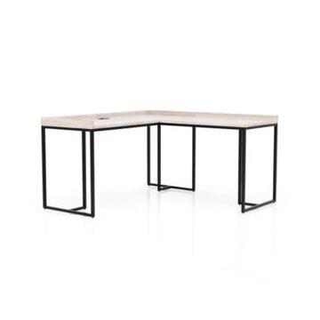 Furniture of America Deravig L-Shape Corner Desk