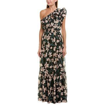 Shoshanna Silk Maxi Dress