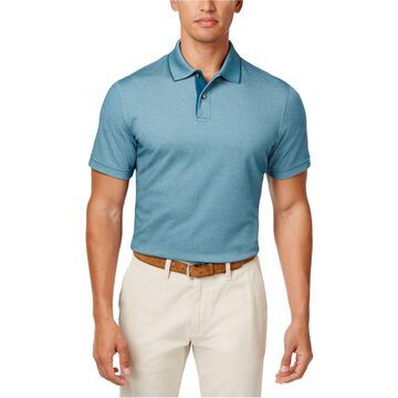 Tasso Elba Mens Basic Rugby Polo Shirt