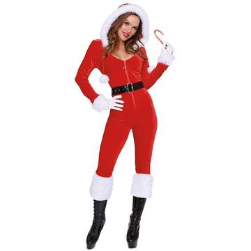 Dreamgirl Ms Claus Adult Costume-X-Large