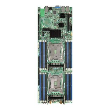 IntelCompute Module HNS2600TPFR - Server - blade - 2-way - RAM 0 MB - no HDD - GigE, 10 GigE - monitor: none(HNS2600TPFR)