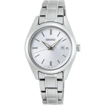 Seiko Women's Essentials Stainless Steel Bracelet Watch 29.8mm
